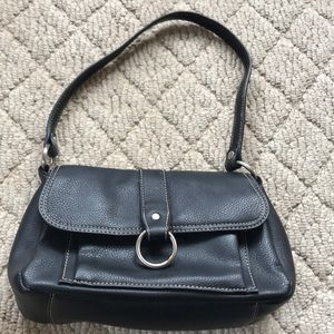 Small genuine leather Liz Claiborne bag